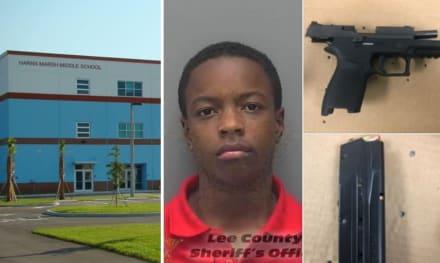 Florida: Estudiante hispano es arrestado por llevar una pistola a la escuela