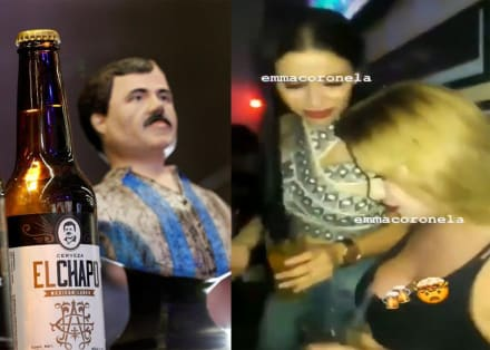 """Resurge vídeo de Emma Coronel bailando mientras sacan cerveza """"El Chapo"""""""