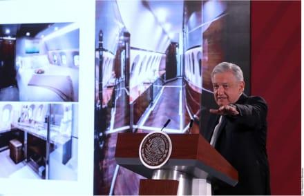Avión presidencial mexicano: AMLO plantea rifar la aeronave en la lotería