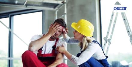 Accidentes laborales: Los 5 más comunes entre trabajadores