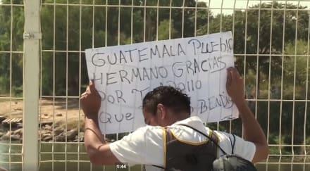 Inmigrantes centroamericanos no se dan por vencidos