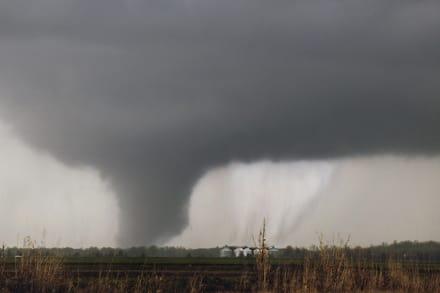 Advertencia de tornados pone en alerta a 30 condados de Georgia