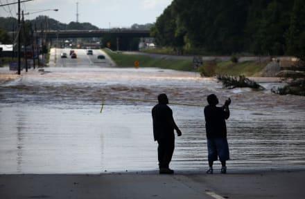 Alertan de tiempo severo para condados al norte de Georgia por fuertes lluvias e inundaciones