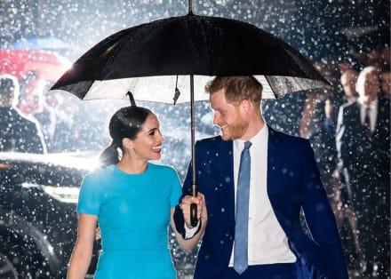 La foto viral de Harry y Meghan a su regreso al Reino Unido