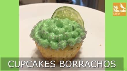 Cupcake borracho: Combínalo con tequila y limón para sorprender a todos