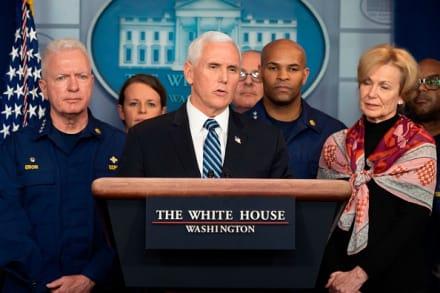 Empleado del vicepresidente Pence dio positivo a prueba del coronavirus
