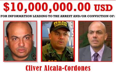 Se entrega general retirado venezolano a quien EE.UU. acusa de narcotráfico