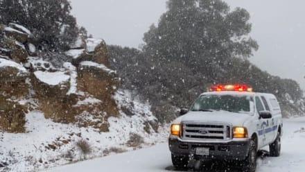 Tormentas eléctricas, truenos y nieve: Clima severo en el sur de EE.UU. este viernes