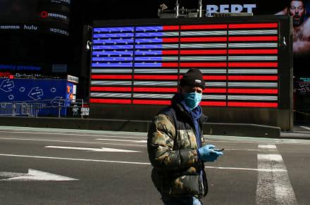 Trump estima que Estados Unidos podría alcanzar 70 mil muertes por coronavirus