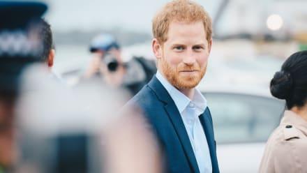 Ahora el príncipe Harry está de luto por muerte de su madrina