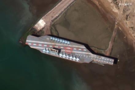Irán lanza misil a falso portaaviones ante tensión con EE.UU.
