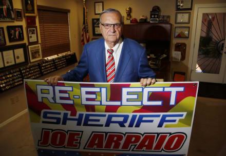 Crónica: Joe Arpaio jura que será más rígido que antes