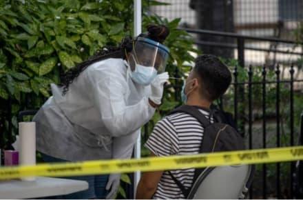 Buena noticia: Segundo brote de coronavirus alcanza meseta en estados más afectados