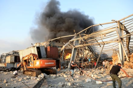 Saldo de la explosión en Beirut: 60 muertos y 3,000 heridos
