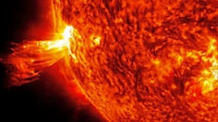 Curioso: Tormenta solar causaría apagones y cortes de comunicación (FOTOS)