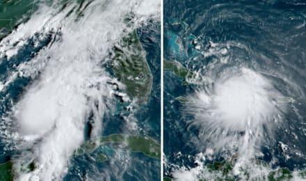 Tormenta Laura deja un muerto mientras sigue en La Española; Marco podría convertirse hoy en huracán