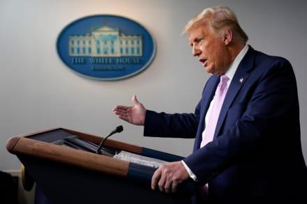 Trump anuncia autorización de uso de plasma contra coronavirus