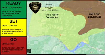 Ordenan evacuación INMEDIATA en Oregon por incendio devastador