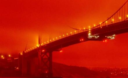 Horizonte apocalíptico: El cielo de California se tiñe de naranja