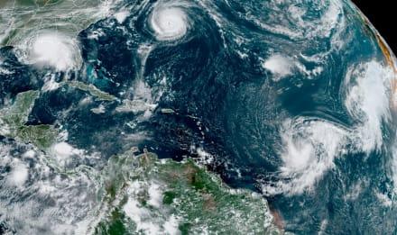 """FLORIDA: Advierten de """"inundaciones históricas potencialmente mortales"""" por Sally"""
