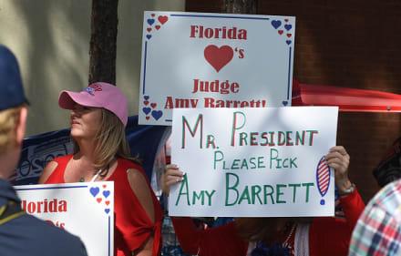 Trump elige a la jueza Amy Coney Barrett para llenar vacante de Ginsburg en la Corte Suprema