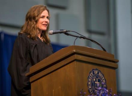Trump nomina a Amy Coney Barrett para el lugar que dejó Ginsburg en Corte Suprema