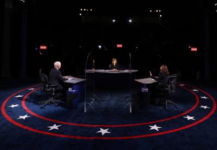 The Fly: Una mosca le 'roba' protagonismo  a Pence en pleno debate (VIDEO)