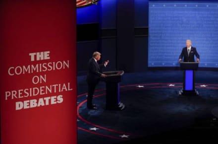 Anuncian que próximo debate entre Trump y Biden será virtual debido al covid del presidente