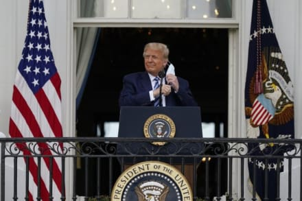 """Trump predice que el 3 de noviembre será el día """"más emocionante"""" en la historia de EE.UU."""