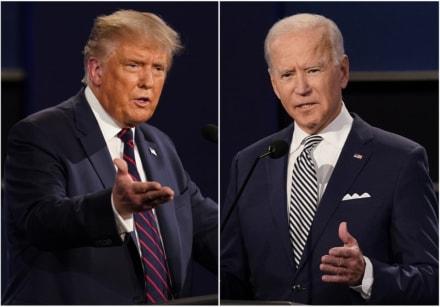 Biden sigue con ventaja por encima de 10% sobre Trump según encuesta