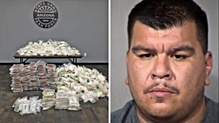 Hispano arrestado en la incautación de metanfetaminas más grande en la historia de Arizona