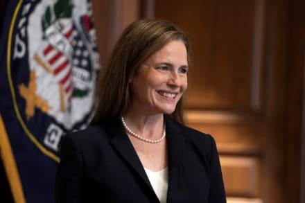 Senado confirma a la jueza Amy Coney Barrett a la Corte Suprema