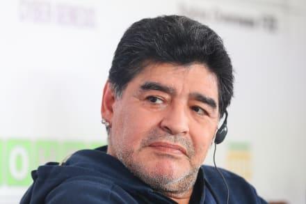 Maradona en cuarentena por temor al COVID-19