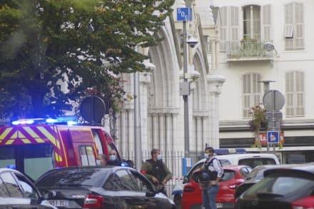 Ataque con cuchillo en iglesia de Francia deja 3 muertos y varios heridos (FOTOS+VIDEO)