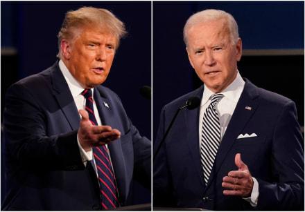 Colegio Electoral: Biden lleva 264 y Trump 214 (270 para ganar)
