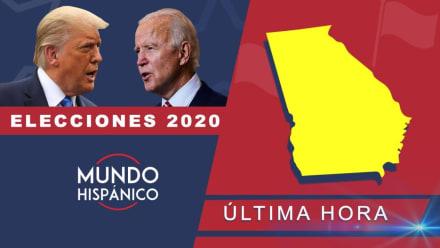 Biden 'pisa los talones' a Trump en Georgia y el presidente solo lo supera por 1,902 votos