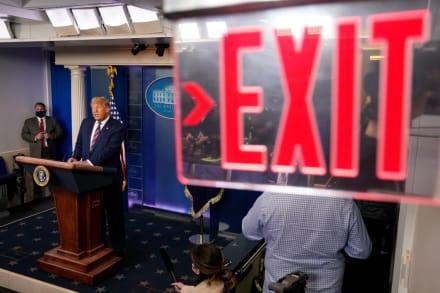 Yerno de Donald Trump le pide conceder la elección frente a Joe Biden (FOTO)