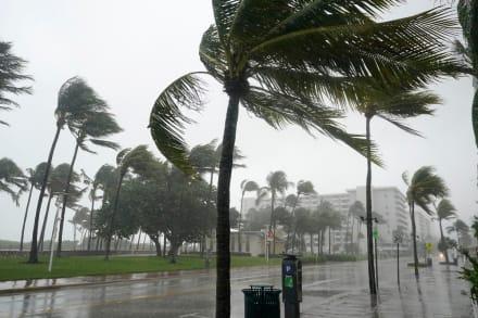 Huracán Eta retoma fuerza al llegar a Florida y emiten alerta (FOTOS)