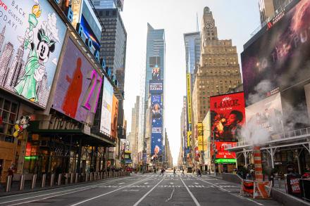 Nueva York podría relajar medidas pese a aumento de casos de COVID-19