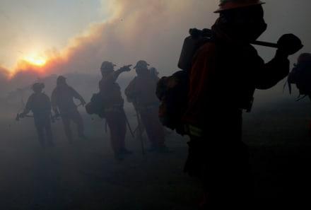 Bond Fire: Se desata nuevo incendio en Silverado Canyon por los fuertes vientos