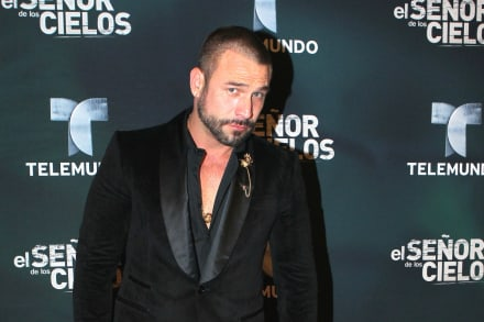Rafael Amaya de 'El Señor de los Cielos' confirma sus problemas con las drogas