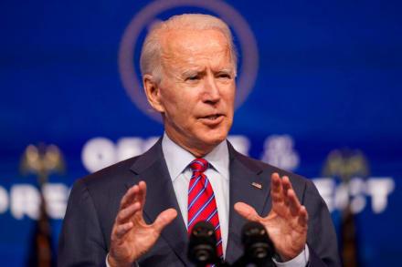 "Biden augura ""futuro sombrío"" si Congreso no aprueba paquete de estímulo"