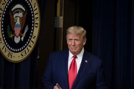 """Tras fallo de la Corte Suprema, Trump tuiteó: """"Nos decepcionó ¡sin sabiduría, sin valor!"""""""