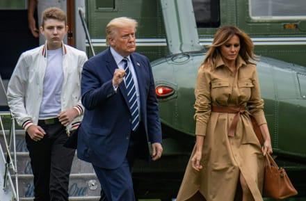 Melania Trump hace gira por escuelas de Florida y alimenta rumores de mudanza a Mar-a-Lago