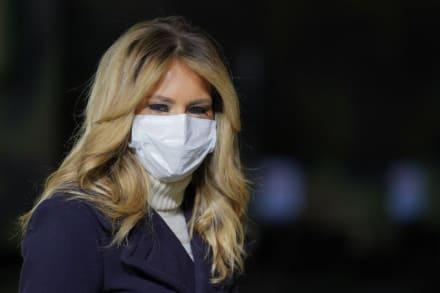 Melania Trump visita por última vez hospital infantil en Washington