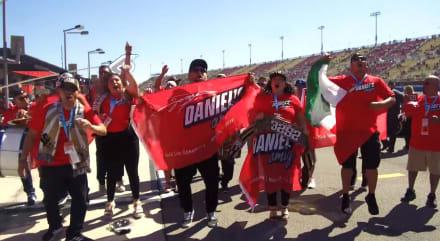 El piloto mexicano Daniel Suárez prende la NASCAR en Las Vegas
