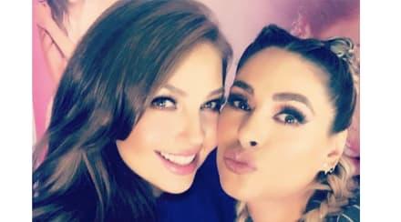 Galilea Montijo y Thalía desatan polémica en Instagram por 'retoque'