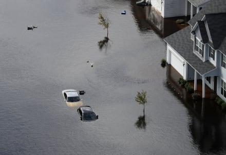 Huracán Florence: Daños rondarían los 20,000 millones de dólares