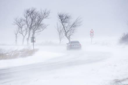 Emiten aviso de clima invernal y vientos en el Sur de California