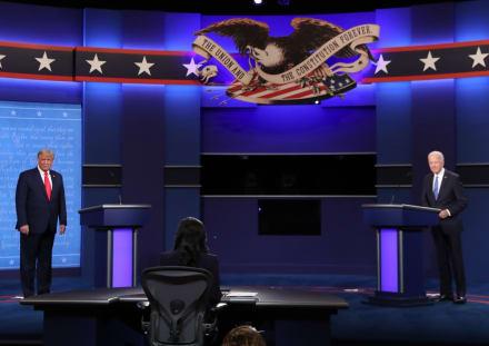 ¿Quién ganó el último debate entre Trump y Biden?